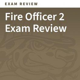 Fire Officer II Exam Review
